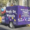 The Center's Meals-On-Wheels truck delivering to home-bound seniors throughout the area